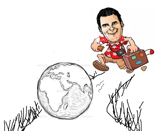 Rahul the globetrotter