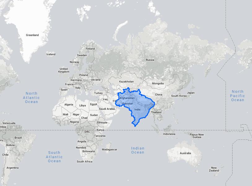 True size - Brazil