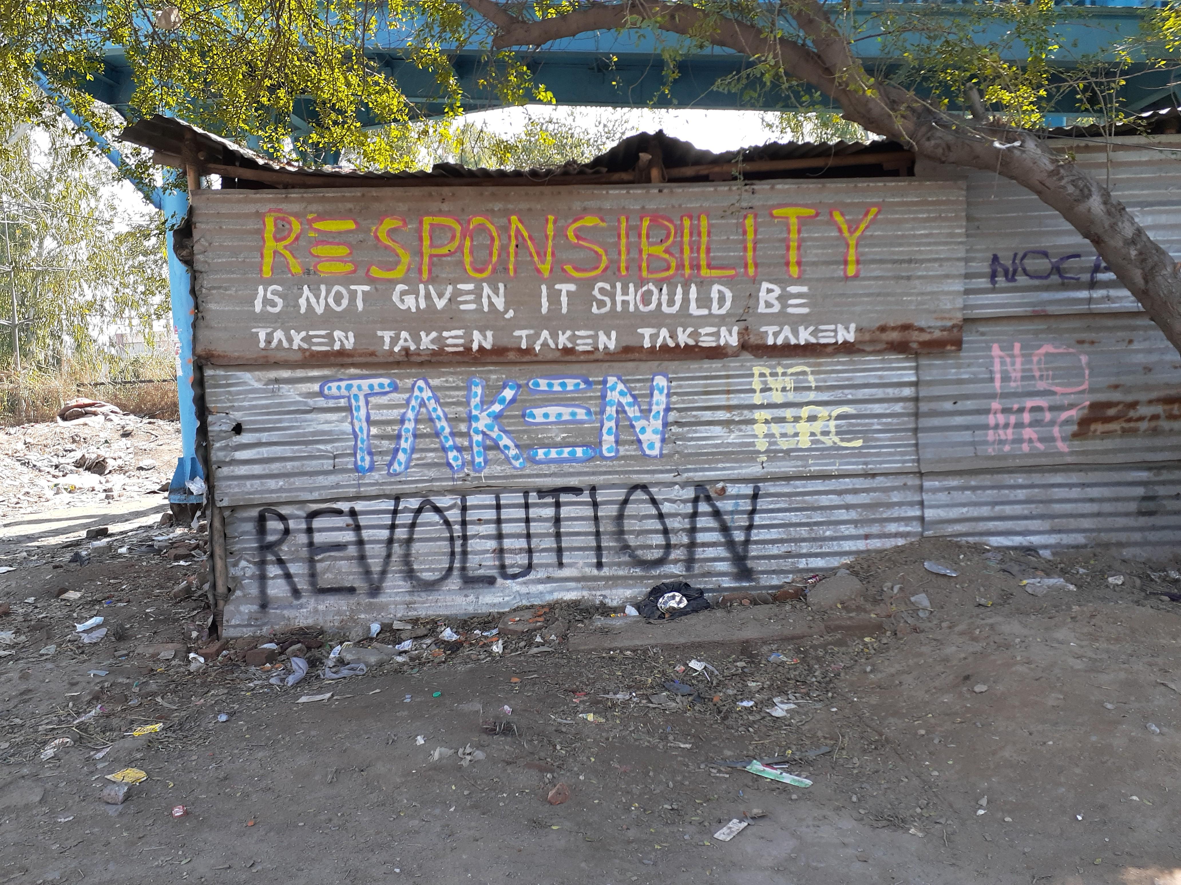 Revolution or revulsion